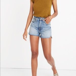 Madewell Perfect Fit Jean Shorts